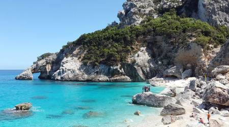 French tourist fined for stealing sand from beach, beaches of Sardinia, travelling fines, indian express news