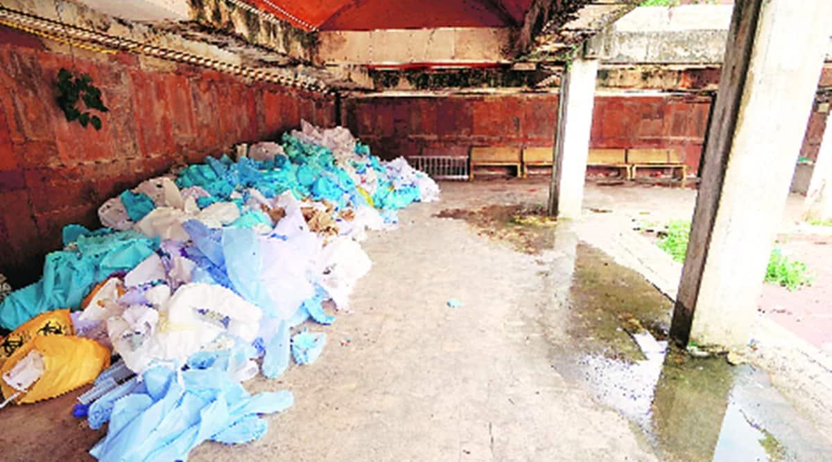 PPE kits, PPE kits disposal, CSIR-NEERI, environmental impact of PPE, coronavirus news, indian express