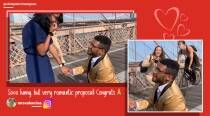 Wedding crasher: Cyclist rams into photographer capturing proposal on bridge