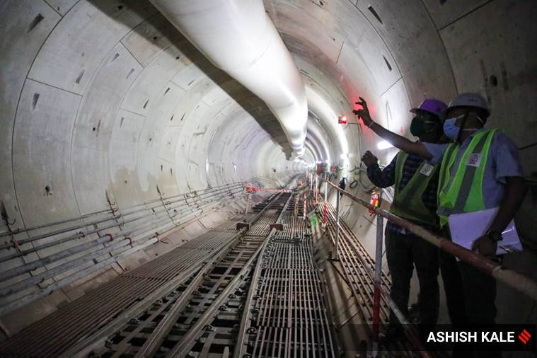 Pune metro tunnel, pUne news, Pune metro rail services, Pune metro rail tunnel, Pune News, indian express
