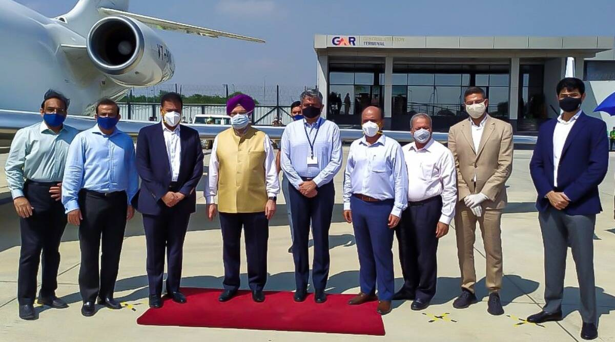 Delhi airport opens exclusive terminal for private jets