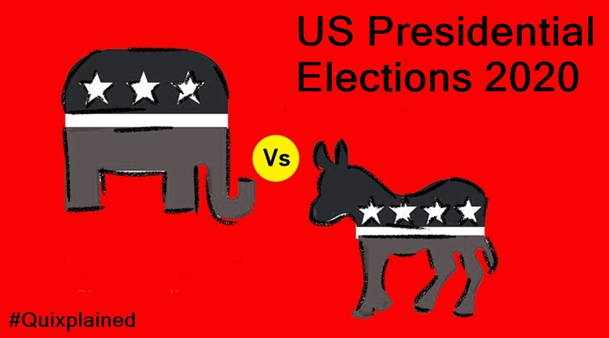us elections, us presidential elections, donald trump, joe biden, black lives matter, BLM protests, covid-19, us covid 19 cases, indian express