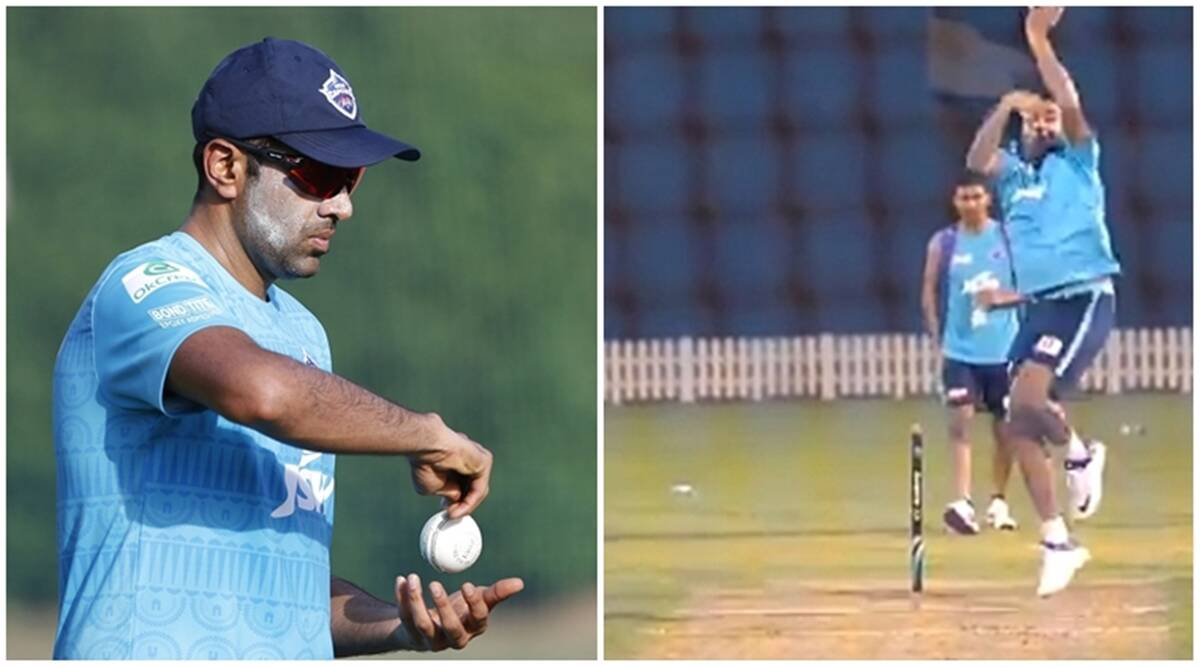 Watch: R Ashwin reveals variations, bowls leg-spin before IPL 2020 - The Indian Express