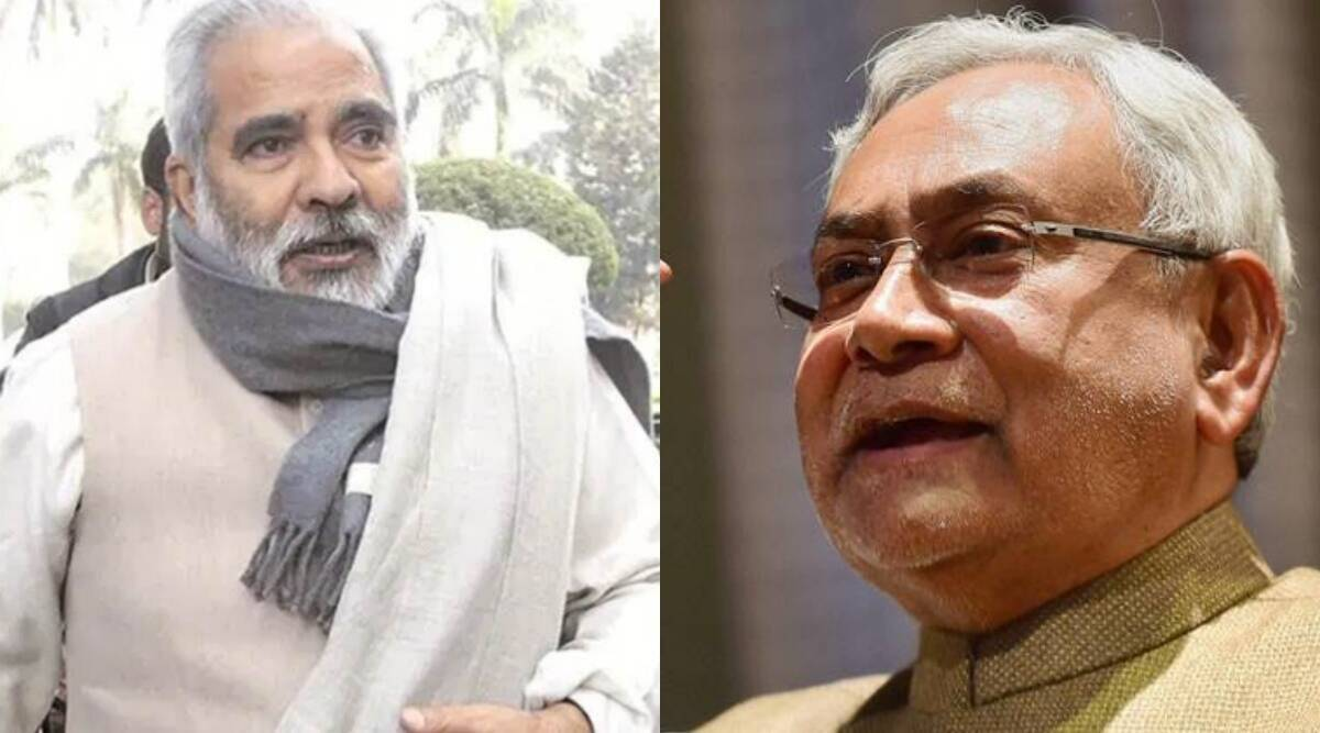 Bihar elections, 2020, Bihar polls 2020, Raghuvansh writes to Nitish Kumar, Raghuvansh quits rjd, Raghuvansh RJD Lalu Prasad Yadav, jdu, indian express