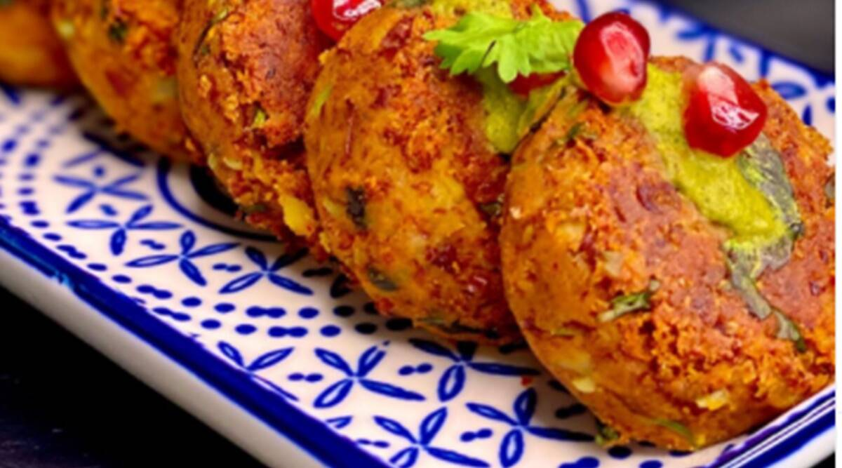 rajma tikki, easy recipe, indianepxress.com, indianexpress, rajma tikkis easy recipe, meghna kamdar recipes, meghnasfoodmagic, chef meghna kamdar recipes, protein recipes, quick protein snacks, easy snacks,
