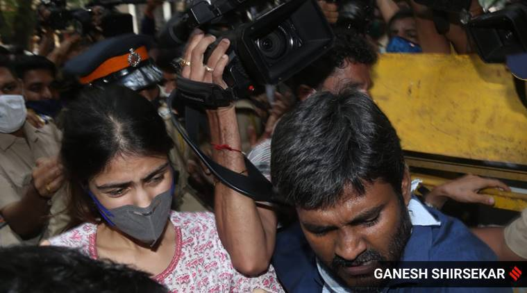 Rhea Chakraborty arrives for NCB probe, her lawyer says 'ready for arrest'