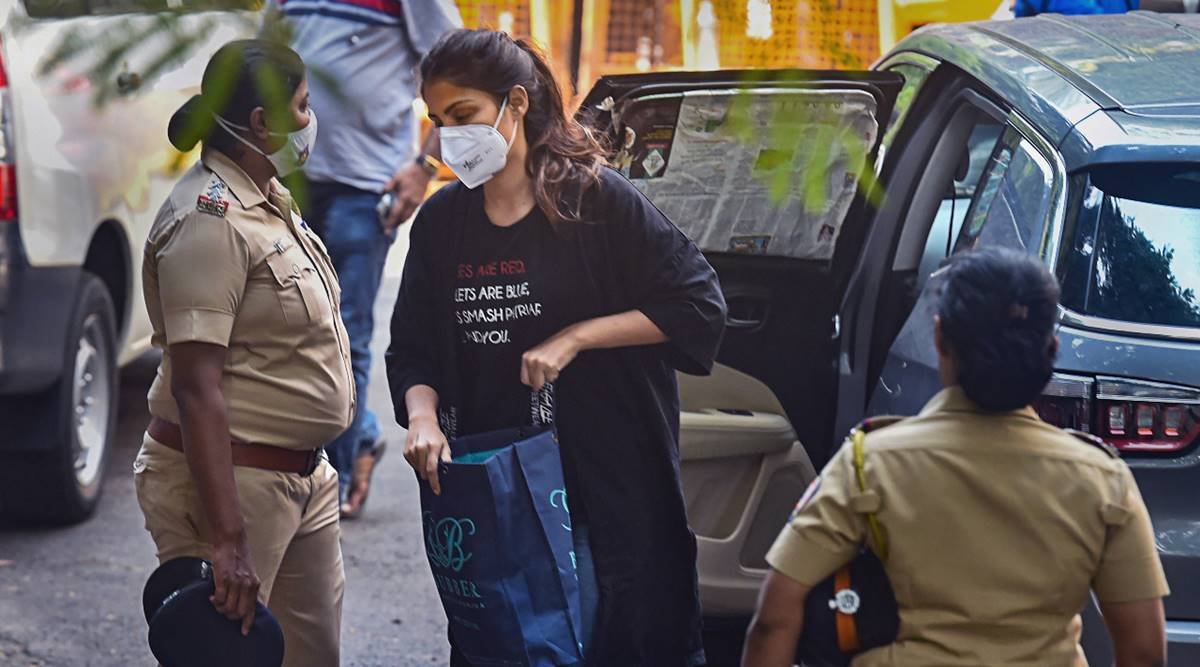 Special NDPS court extends Rhea Chakraborty's judicial custody till Oct 6