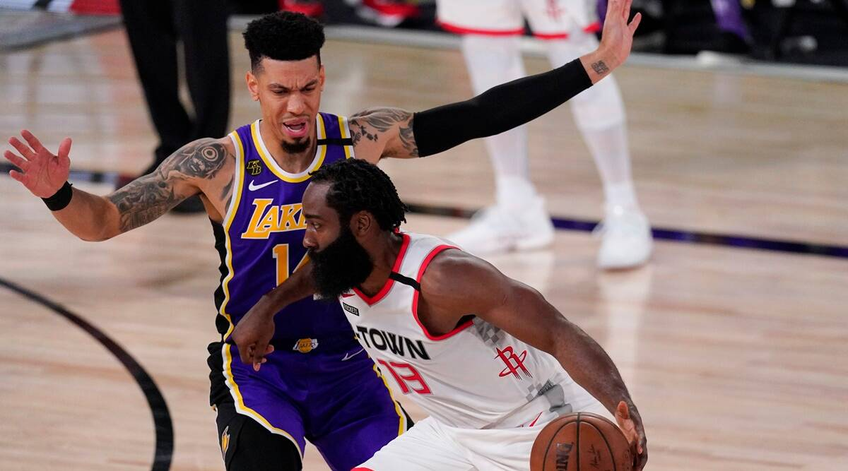 Houston Rockets Run Away From No 1 Seed Los Angeles Lakers Take Game 1 112 97 Sports News The Indian Express