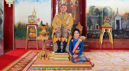 Thailand king reconciles with royal consort