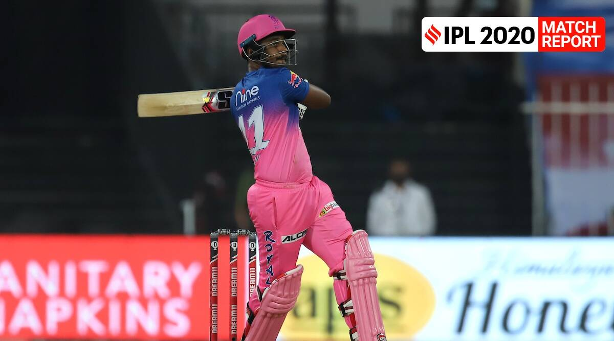 Sanju Samson hits it out of the park in RR's win over CSK