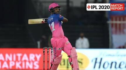IPL 2020: Sanju Samson hits it out of the park in RR's win over CSK