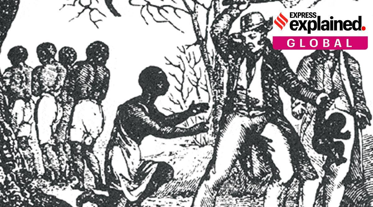 The 1619 Project', donald trump on 1619 project, us slavery, 1619 project in Us schools, new york times magazine 1619 project, indian express explained, trump news, latest news
