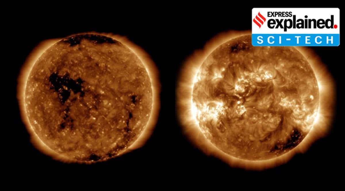 Solar cycle 25, what is solar cycle 25, solar cycle 25 explained. solar cycle 25 news, NASA solar cycle 25, Indian Express