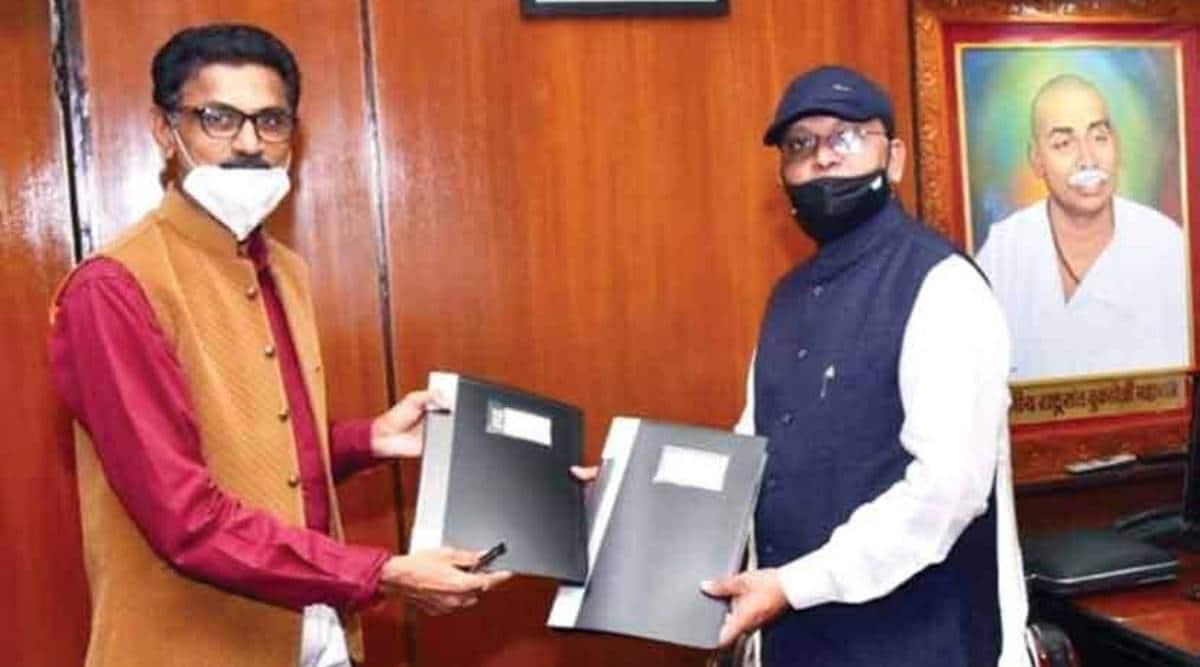 nagpur university VC, Nitin Raut, nagpur university VC appointment, nagpur university VC Subhash Chaudhari