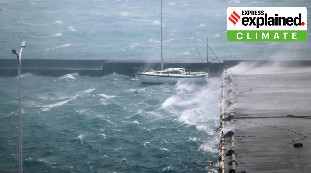 Typhoon Haishen, Typhoon Haishen news, Typhoon Haishen impact, Typhoon Haishen pictures, Typhoon Haishen video, japan typhoon, indian express