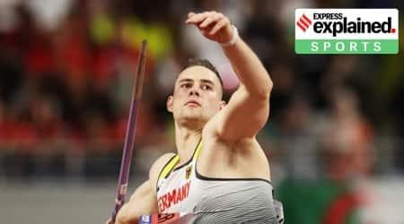 Johannes Vetter, Johannes Vetter javelin throw, Johannes Vetter Javelin record, Javelin throw, Javeling throw risks, Javelin throw olympics, Indian Express