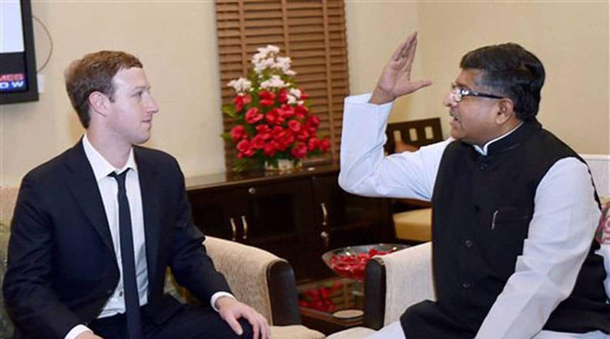 Facebook, ravi shankar prasad, facebook, Mark Zuckerberg, ravi shankar prasad writes to Zuckerberg, ankhi das, indian express