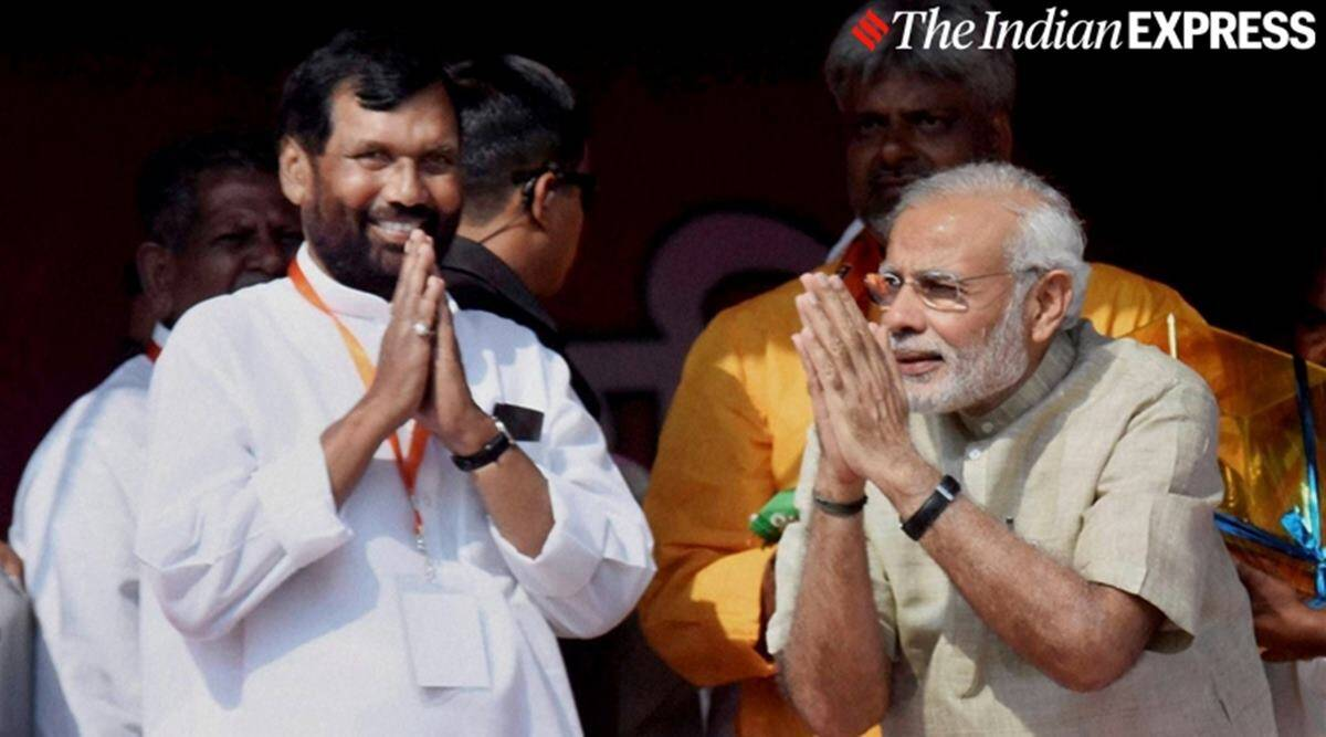 Ram vilas paswan, ram vilas paswan death, ram vilas paswan tributes, ram vilas paswan condolences, Bihar elections, indian express