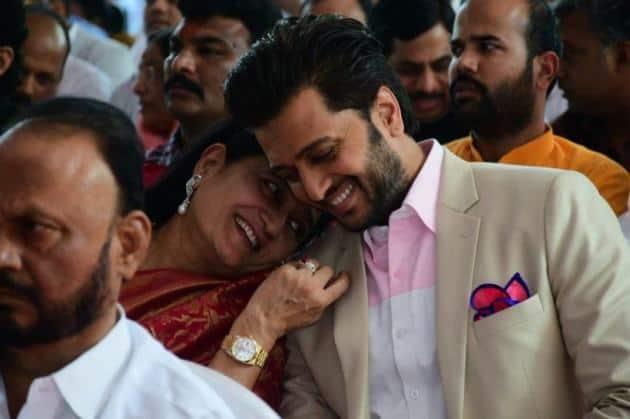 Riteish Deshmukh mother