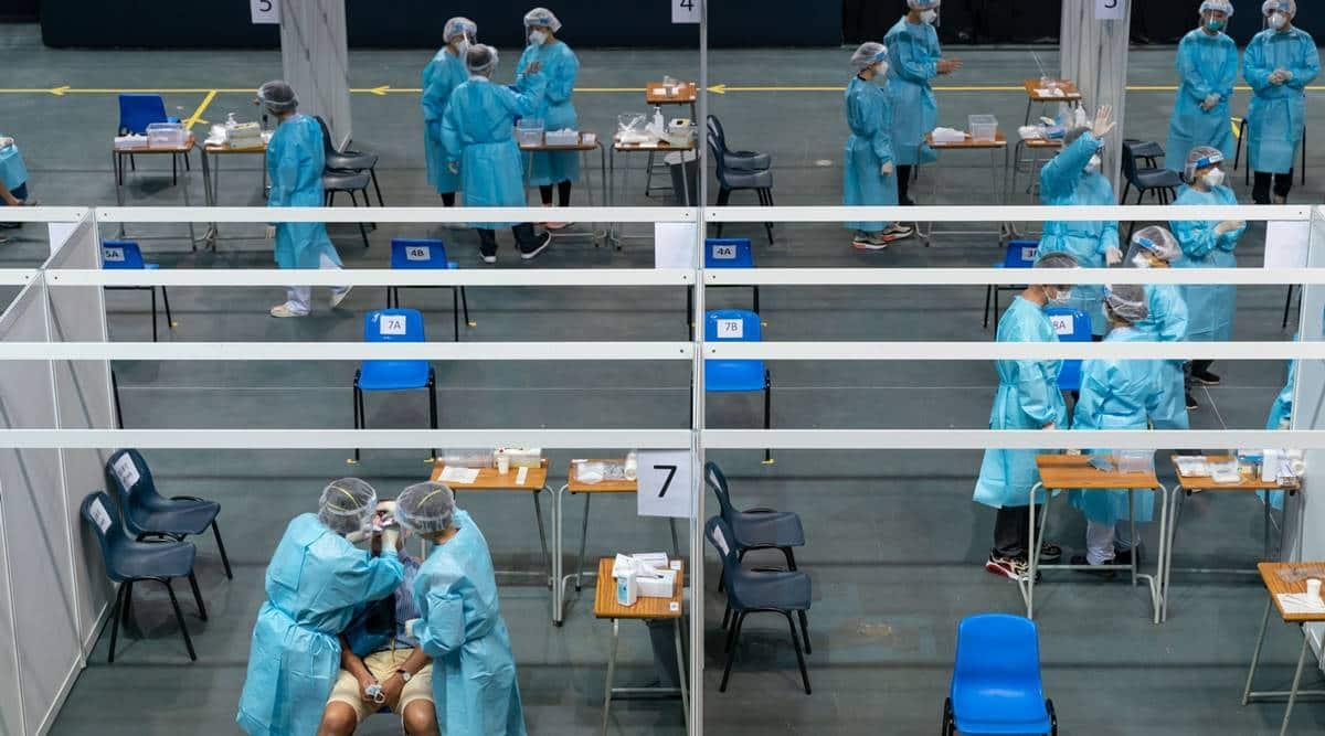 Hong Kong drafts law to make covid tests mandatory for some