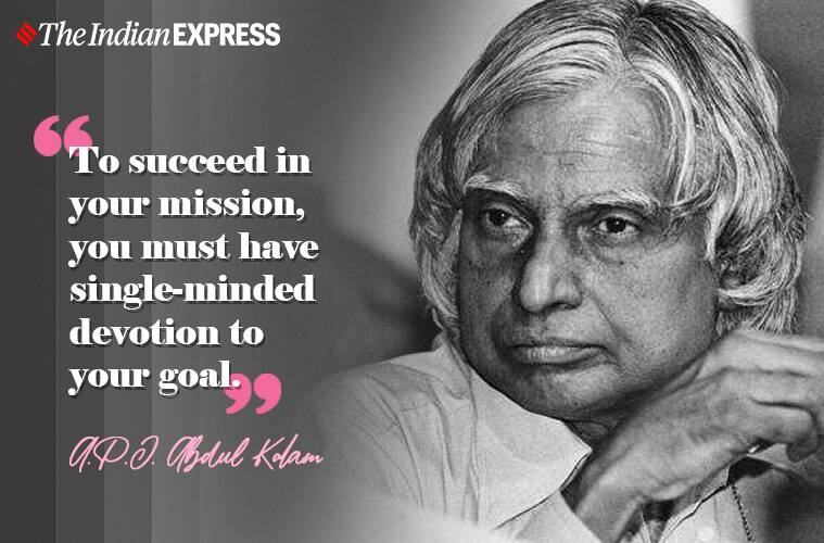 Apj Abdul Kalam Birth Anniversary Inspirational Quotes Thoughts Images Status All You Need To Know
