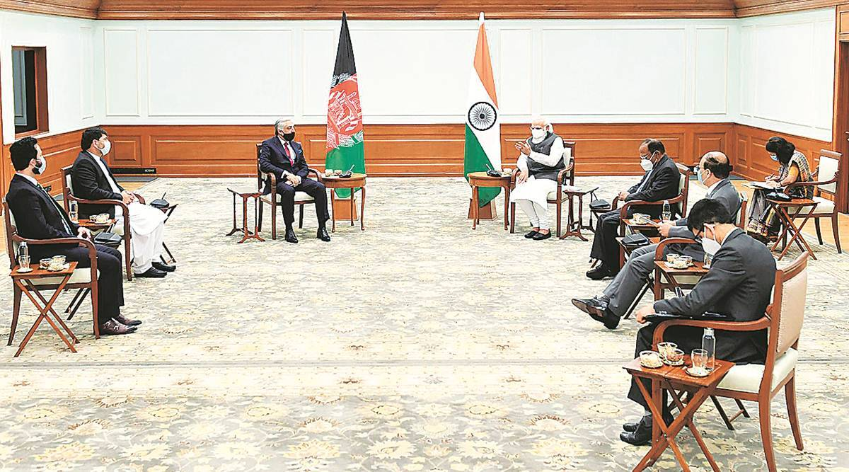 "nsa ajit doval, india security advisor ajit doval, Afghan reconciliation, afghanistan India relations, indians in afghanistan, Indian express"" />"
