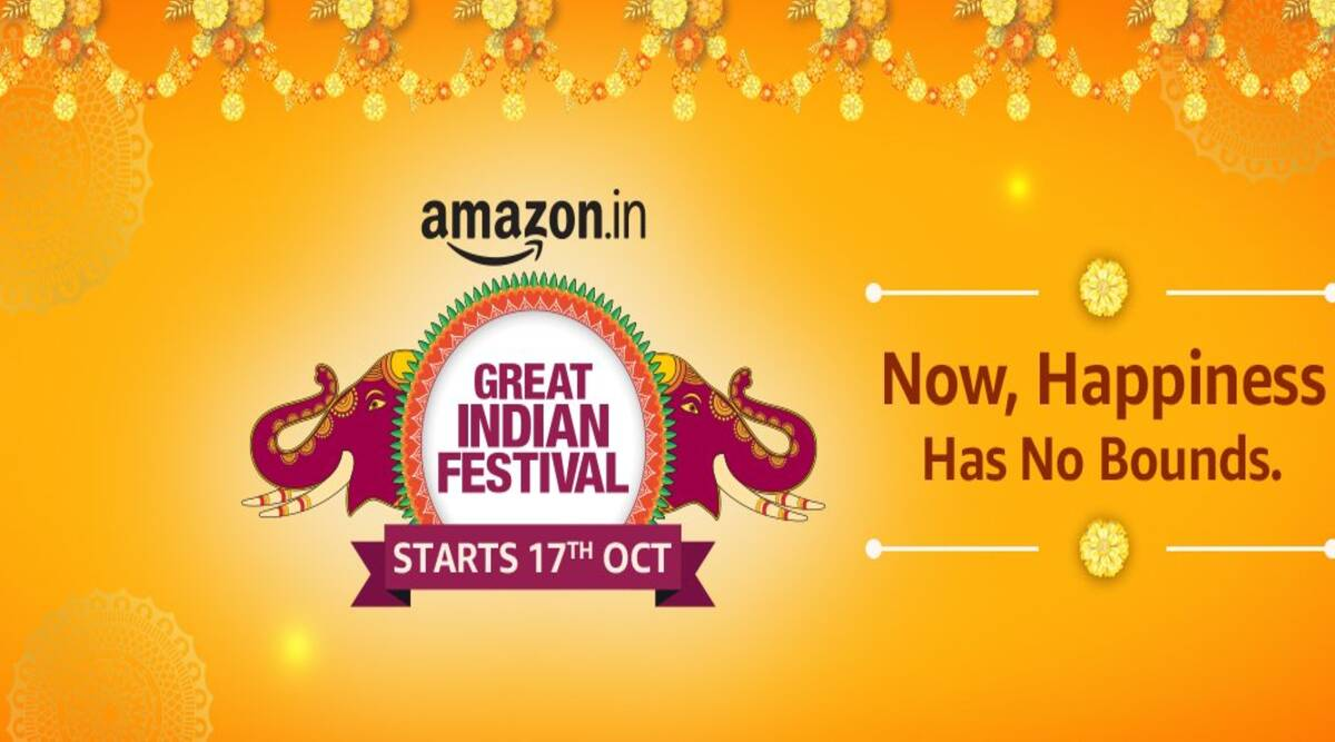 Amazon Great Indian festival, great indian festival october 17, Great Indian festival sale dates, Amazon offers great indian festival sale, smartphone deals great indian festival sale 2020