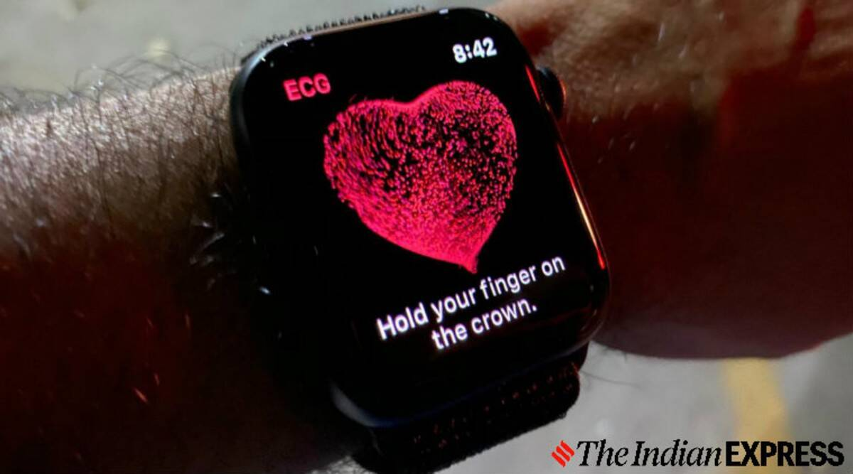 Apple Watch saves life on a 61-year Indian man, thanks to the ECG feature - The Indian Express
