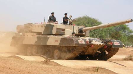 DRDO successfully test fires laser-guided anti-tank guided missile from Arjun Tank