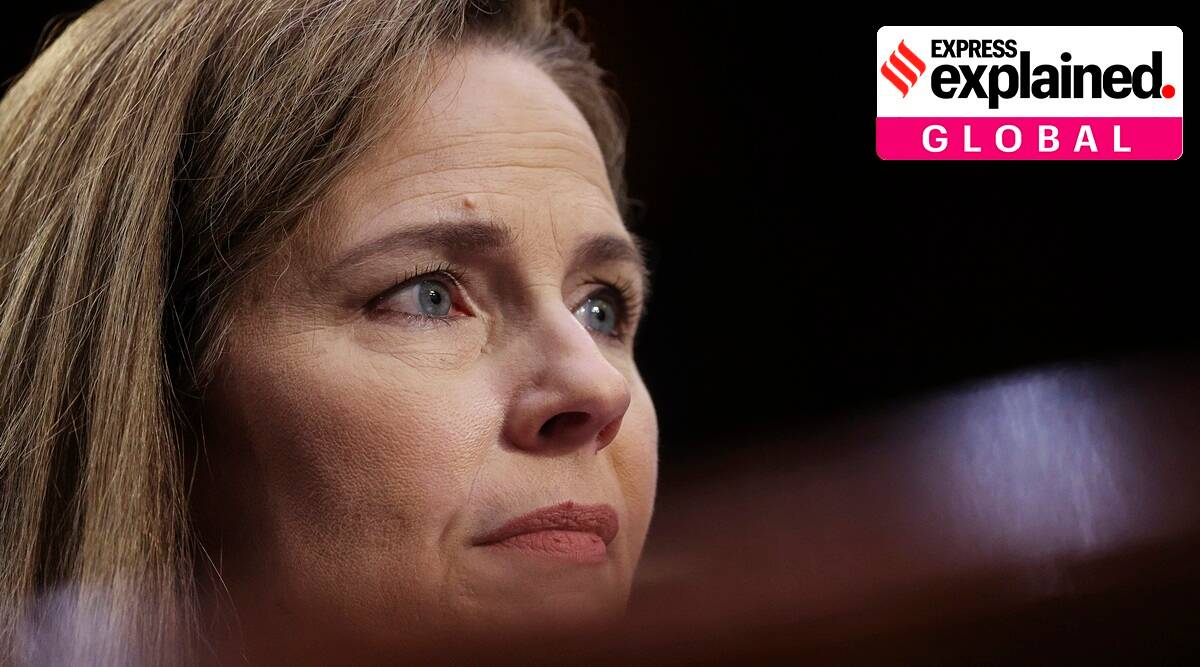 Amy Coney Barrett, Amy Coney Barrett 'sexual preference, Amy Coney Barrett sexual preference statement, what is sexual preference, US Supreme Court judge, Indian Express