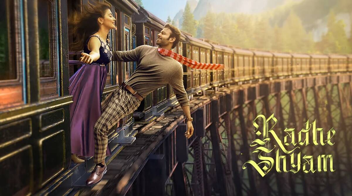 Radhe Shyam teaser: Prabhas promises a timeless love story | Entertainment News,The Indian Express