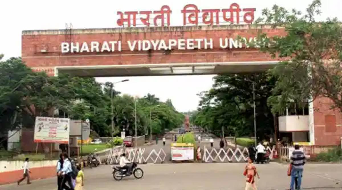 Bharati Vidyapeeth, IMED induction, online induction programme, BBA students, BCA students, Pune news, Indian express news