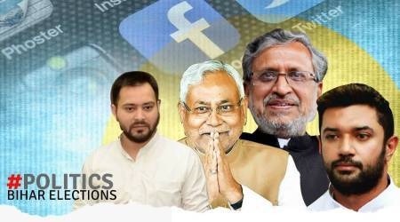 Bihar assembly elections, bihar polls, Bihar elections social media, Bihar elections digital media, Bihar elections digital campaign, #Politics