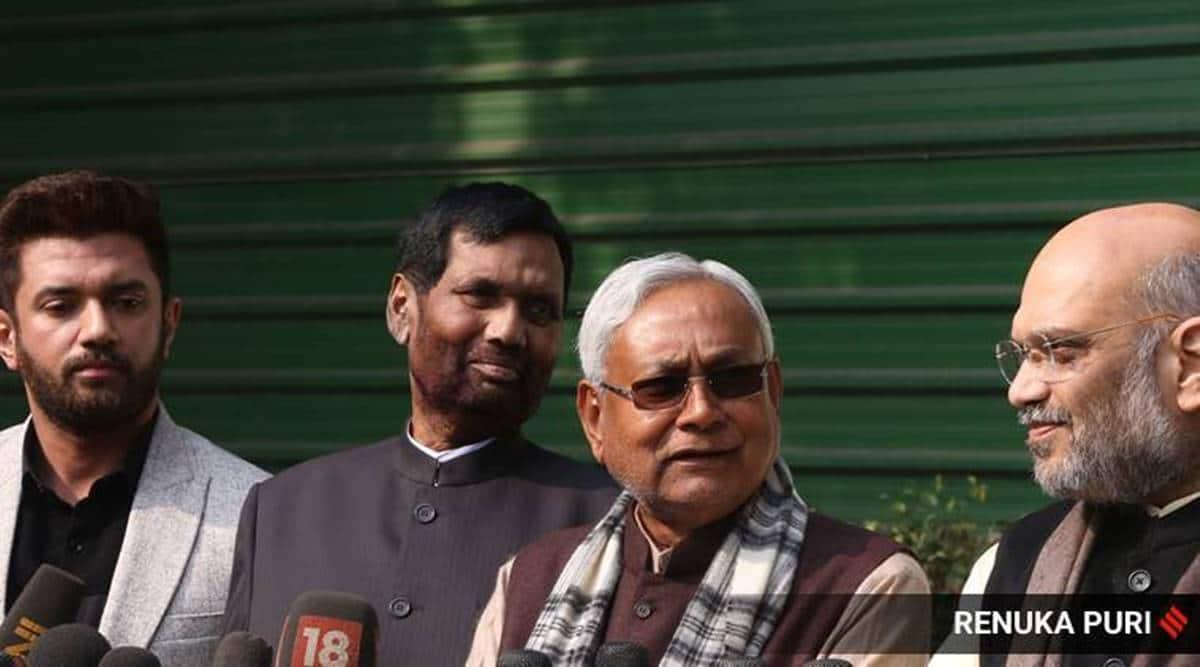 Bihar assembly elections, BJP JDU, BJP LJP, JDU LJP, Bihar Failed ticket seekers, Bihar government, Nitish Kumar, Sushil Modi, Chirag Paswan, Indian express
