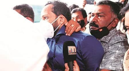 Binish Kodiyeri, drugs racket busrted in bengaluru, bengaluru drug racket, kerala cpi(m) kodiyeri balakrishnan, indian express