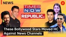 List of Bollywood stars who moved to HC against news channels