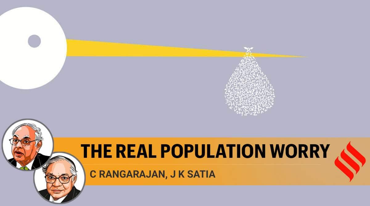 fertility rate, sex ratio, sex ratio in india, india population, C Rangarajan writes, JK Satia opinion, indian express opinion