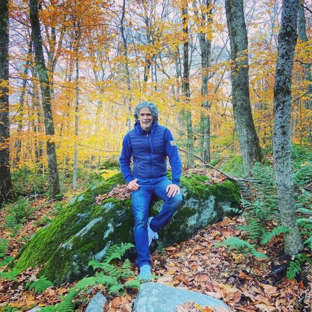 milind soman vacation