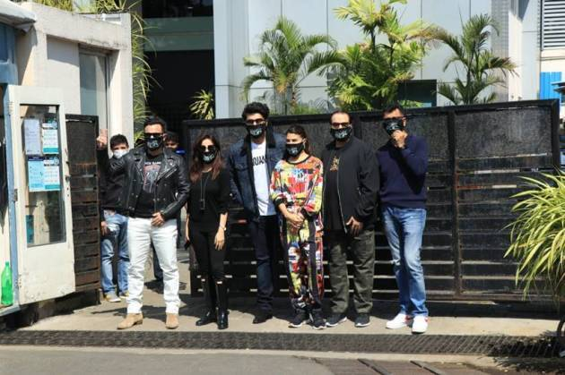 bhoot police cast shooting