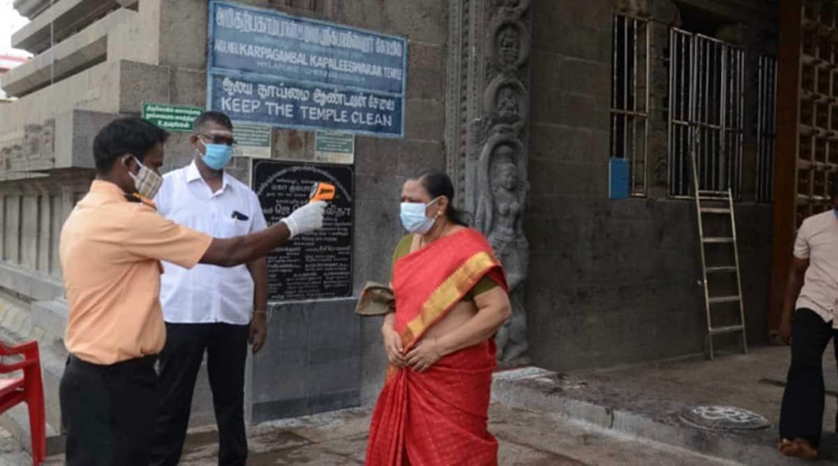 Chennai, Chennai temple, covid-19