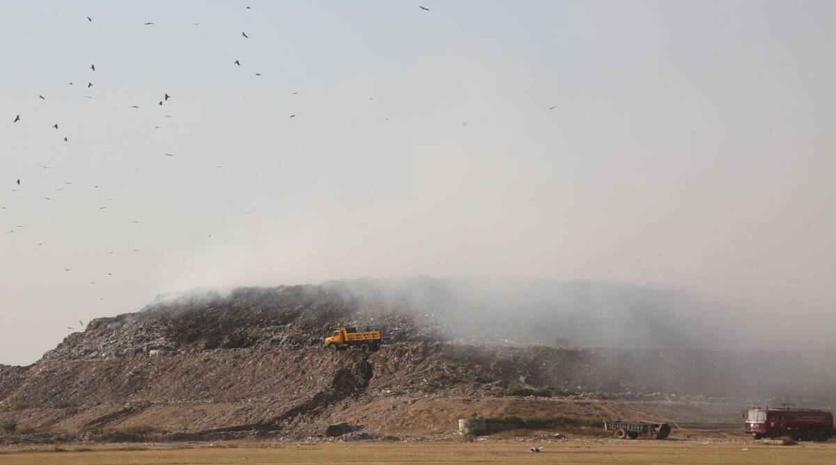 Dadumajra Dumping Ground, Dadumajra Dumping Ground Fire, Chandigarh