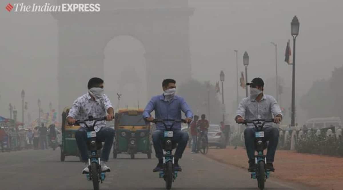 delhi pollution, Delhi air quality, Delhi air pollution, delhi aqi, Arvind Kejriwal, AAP, Delhi city news