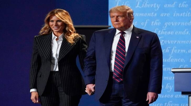 Donald Trump, Melania Trump, US President, US First Lady, COVID-19