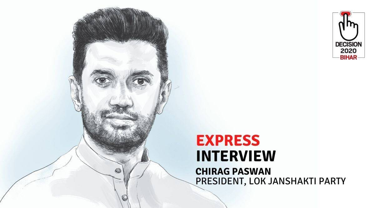 Chirag Paswan: 'I cannot be separate from the BJP, PM…Want to see a BJP-led LJP govt. JD(U) is on its way out' - The Indian Express