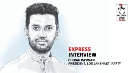 Chirag Paswan, Chirag Paswan interview, Bihar assembly elections 2020, LJP Bihar, Ram Vilas Paswan, Narendra Modi, Chirag Paswan BJP, Nitish Kumar, LJP-JDU, Indian express interview,