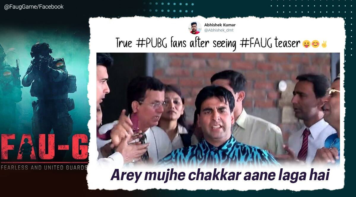 Akshay Kumar shares FAU-G teaser, gamers respond with memes and PUBG comparisons - The Indian Express