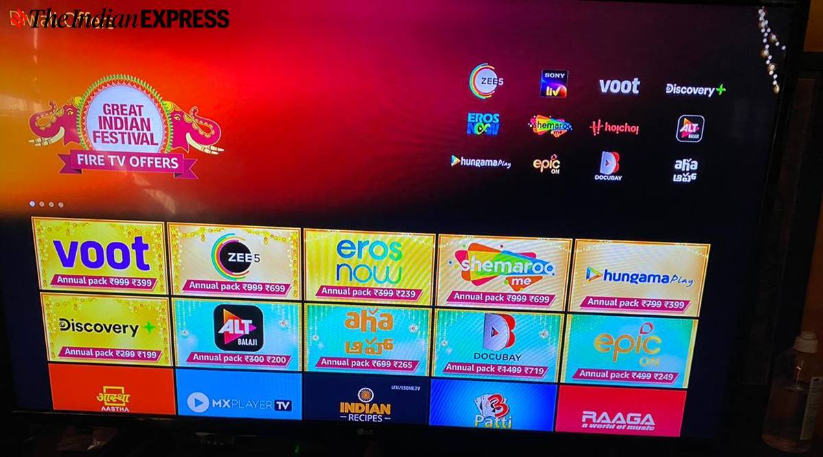 amazon firetv stick offers, zee5 subscription, dsicovery plus subscription, aha subscription, altbalaji subscription, discovery plus subscription, discount on amazon tv stick subscription