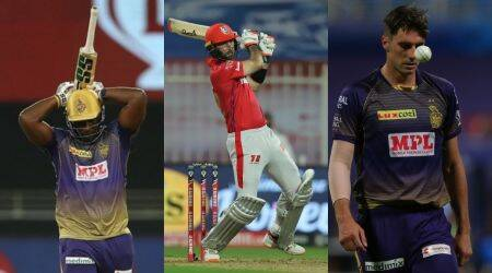 IPL 2020, FLops of IPL 2020, Andre Russell, Glenn Maxwell and Pat Cummins