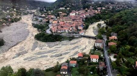 France Floods, Italy, Alpes-Maritimes Floods, La Vesubie