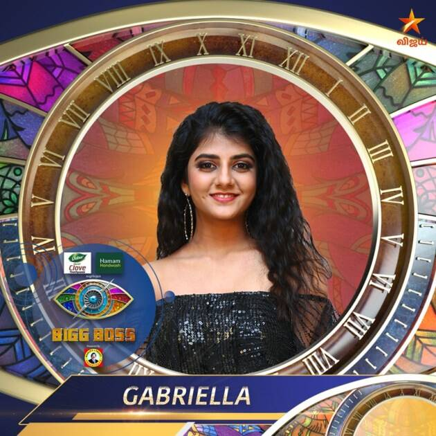 Gabriella bigg boss tamil 4